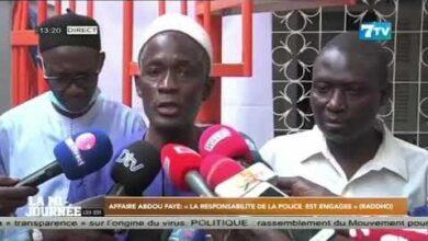 Affaire Abdou Fayela Responsabilite De La Police Est Engagee Dapres Sadikh Niass Sg De La Raddho 4U88Ff0Kq4G Image