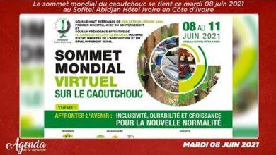 Agenda De La Semaine Du 04 Au 12 Juin 2021 Le Sommet Mondial Du Caoutchouc Se Tient Ce Mardi 5Nyafzrp55A Image