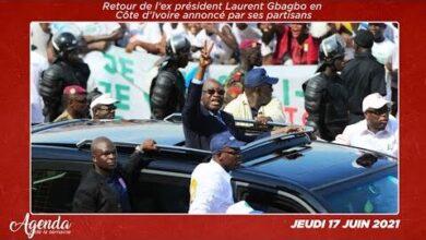 Agenda De La Semaine Du 14 Au 18 Juin 2021 Retour De Laurent Gbagbo En Cote Divoire Gb9Athhficm Image