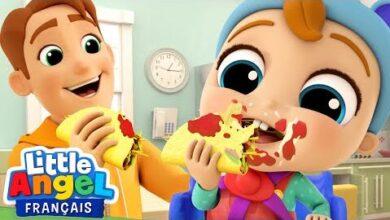 Allons Manger Avec Bebe Louis Comptines Pour Enfants Little Angel Francais Lzdoomzslso Image
