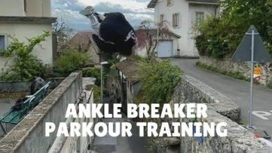 Ankle Breaker Parkour Training Broke Another Mental Barrier Z Rucjft4Hq Image