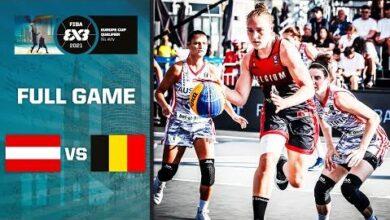 Austria V Belgium Womens Fiba 3X3 Europe Cup Ticket Full Game Israel Qualifier 2021 Itlwlroxmko Image