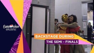 Backstage During The Semi Finals Eurovision Song Contest 2021 Vwqkjcuun9M Image