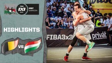 Belgium V Hungary Mens Olympic Ticket Highlights Fiba 3X3 Uoqt P8Bkfv35Eky Image