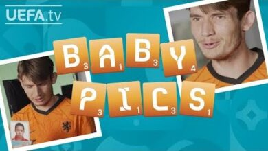 Can Marten De Roon Recognize Their Netherlands Team Mates From Their Baby Photos Eu4Jox 2H38 Image
