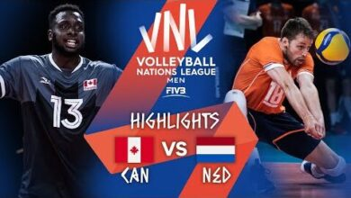 Can Vs Ned Highlights Week 5 Mens Vnl 2021 Ahh Zxwvpom Image