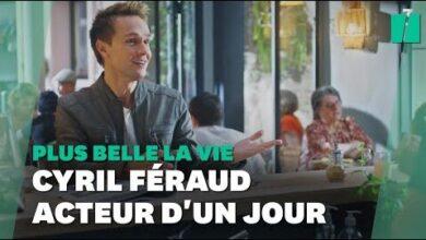 Cyril Feraud Sincruste Dans Plus Belle La Vie Avant Musique En Fete Sur France 3 Nm62V4Lzi Image