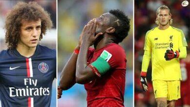 David Luiz Assamoa Gyan Loris Karius Ces Joueurs Qui Ont Ruine Leurs Carrieres En Un Seul Match Kk0Rdrfts7Q Image
