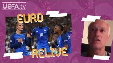 Deschamps Looks Back On Euro 2016S Germany 0 2 France Euro Relive Dmzuipst Bi Image