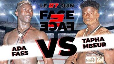 Direct 1Er Face A Face Tapha Mbeur Vs Ada Fass Avec Ndiaye Productions Mnlk4Adabc4 Image
