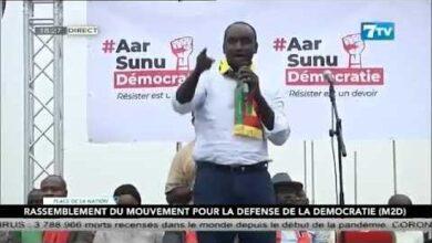 Dr Cheikh Tidiane Dieye Le Peuple Senegalais Nest Plus Dans La Resistance Mais A Loffensive 8Bynzgzimrc Image