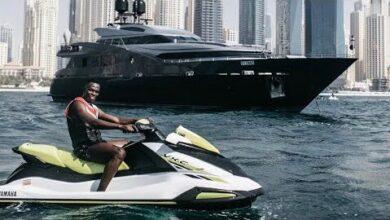 Edouard Mendy En Vacances A Dubai Pour Se Reposer Et Preparer La Prochaine Ppnjn8Jnx M Image