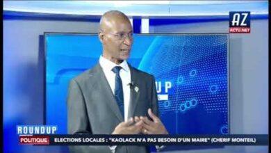 Elections Locales Kaolack Na Pas Besion Dun Maire Cherif Monteil U1 9G4Cii C Image