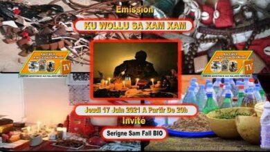 Emission Ku Wollu Sa Xam Xam 1Ere Invite Serigne Sam Fall Dit Monsieur Fall Bio Kvi97Poajro Image
