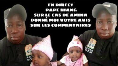 En Direct Pape Niang Sur Le Cas Amina Actuellement Qcaj1Yrmkfe Image