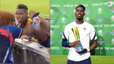 Equipe De France La Magnifique Promesse De Paul Pogba A Sa Mere Cpb511Cz Fe Image