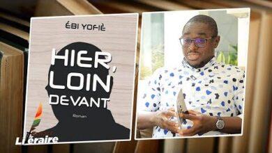Espace Litteraire Lecrivain Ivoirien Ebi Yofie Presente Son Premier Roman Hier Loin Devant Kdnt Gwjijw Image