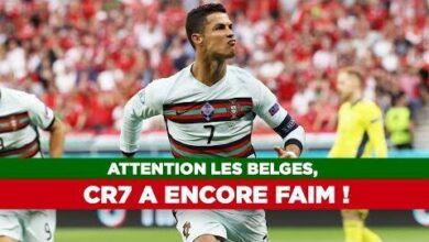 Euro 2020 Attention Les Belges Cr7 A Encore Faim 1Tvpnalrjmq Image