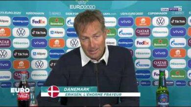 Euro 2020 Le Selectionneur Danois Revient Sur Le Malaise De Christian Eriksen Byzweb02Y6E Image