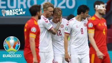 Euro 2021 Le Goal Replay De Pays De Galles Danemark Gvamkcm0Wdi Image