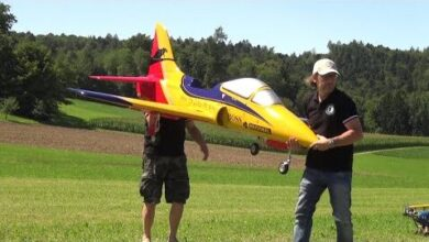 Fast Jet Rc Turbine Model Excellent Flown Hpmhnloamsy Image