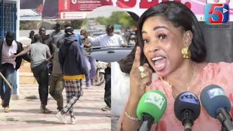 Fatou Ndiaye Fouta Du Mouvement Tampi Recoit Des Mence De M0Rt