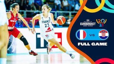 France V Croatia Full Game Fiba Womens Eurobasket 2021 Final Round Quxkcaabucq Image