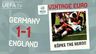 Germany 1 1 England Euro 1996 Vintage Euro G8Zwoxeosgw Image
