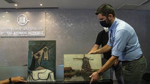 Grecia Recupera Obras De Arte Roubadas Em 2012 Pzu 6Gctjgq Image