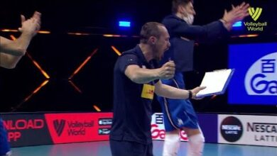 Italy Vs Bulgaria Fivb Volleyball Nations League Men Match Highlights 03 06 2021 Byxfgximxw Image