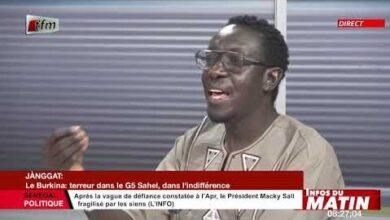 Janggat De Abdoulaye Cisse Le Burkina Terreur Dans Le G5 Sahel Dans Infos Du Matin Du 08 Juin 2021 Unlacxkhhii Image