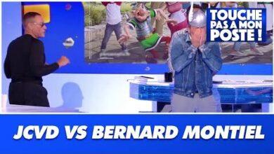 Jean Claude Van Damme Affronte Bernard Montiel Dans Tpmp Uvwhp7Ontuq Image