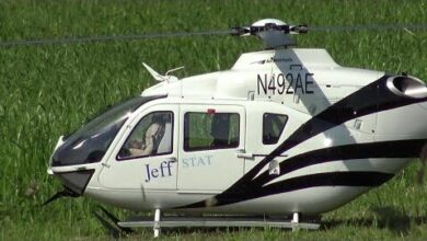 Jeff Stat Rc Eurocopter Ec 135 Scale Electric Model Helicopter Byjazey3Ubs Image