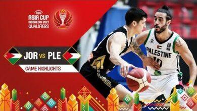 Jordan Palestine Highlights Fiba Asia Cup 2021 Qualifiers Eqcfqbmhpo8 Image