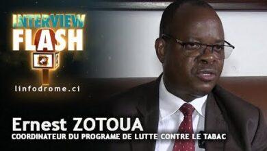 Journee Mondiale Sans Tabac Ernest Zotoua Une Bouffee De Shisha Sest Fume 20 Cigarettes Qs6Nf3Scmia Image