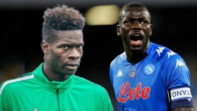 Koulibaly Campe Sur Sa Position Je Veux Rester A Napoli Fiorentina Veut Pape Abou Cisse Rrtdehhnt9K Image