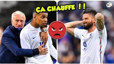 Le Clash Mbappe Vs Giroud Qui Regler Leurs Comptes Deschamps A Du Intervenir D69Twkda59I Image