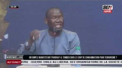 Le Debat Agite Sur Le Plateau De Ndoumbelane Concernant Le Projet De Loi Kpk5W2Wlq8I Image