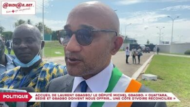 Le Depute Michel Gbagboouattara Bedie Et Gbagbo Doivent Nous Offrir Cote Divoire Reconciliee Bbzgsob2Vhi Image