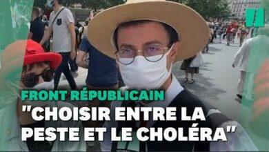 Le Front Republicain Ne Fait Plus Recette A La Marche Des Libertes Mnkd5Kxywca Image