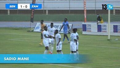 Le Senegal Simpose Devant La Zambie 3 1 Coulisses Du Match Sur 13Tv A9N04Iycnxq Image