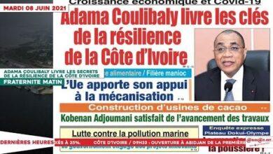 Le Titrologue Du 08 Juin 2021 Adama Coulibaly Livre Les Secrets De La Resilience De La Ss4Grfk9Xf4 Image