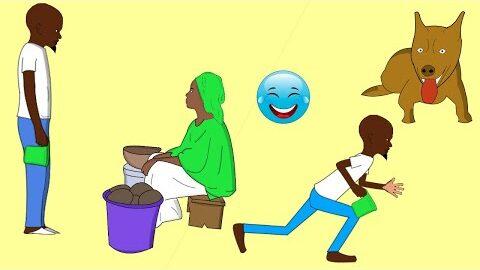 Le Vieil Hommela Vendeuse De Bouillie Et Le Chienlagocomedy Senegal