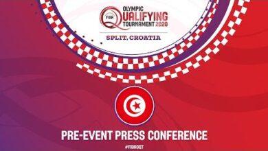 Live Pre Event Press Conference Tunisia Fiba Olympic Qualifying Tournament 2020 Ric1Mdf6Vao Image