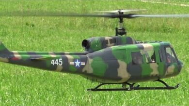 Loorholz Helicopter Meeting 2021 Army Bell Huey Uh1 Rc Electric Helicopter 5Ynmvwdowro Image