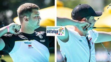 Lukasz Przybylski V Tim Krippendorf Compound Men Bronze Antalya 2021 European Championships Abjevh0Lloq Image