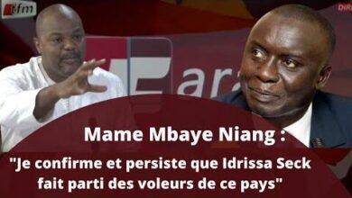Mame Mbaye Niang Je Confirme Et Persiste Que Idrissa Seck Fait Parti Des Voleurs De Ce Pays 5Hiegjpt72G Image