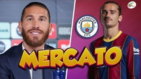 Manchester City Se Penche Sur Griezmann Un Accord Deja Trouve Pour Sergio Ramos Mercato Z96Vp4Mowuq Image