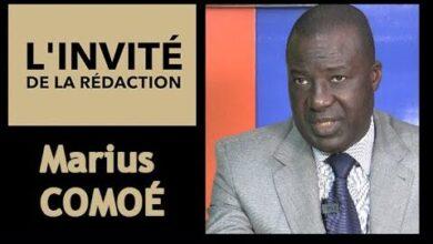 Marius Comoe President Du Conseil National Des Organisations De Cote Divoire Cnoc Ci Bectvgpnr6W Image