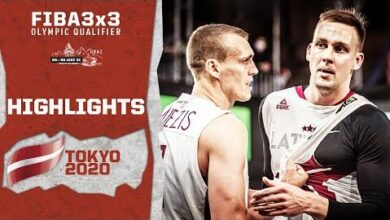 Miezis Lasmanis Co Latvia To The Olympics Highlights Fiba 3X3 Olympic Qualifier M0Rxbj Ecc8 Image